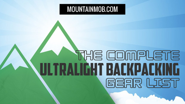 ultralight backpacking gear list